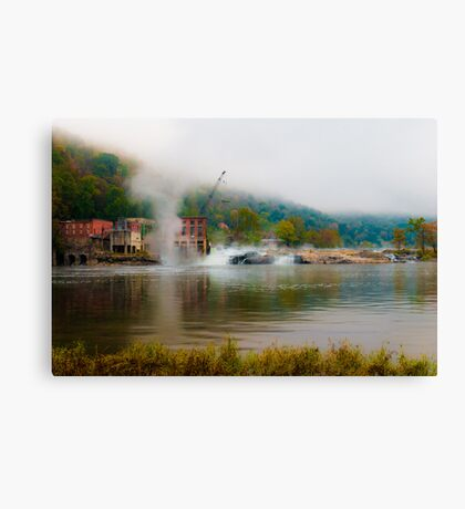 Kanawha Falls Canvas Print
