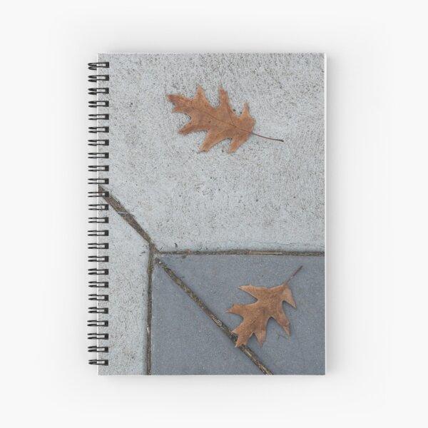Fall Sidewalk Spiral Notebook