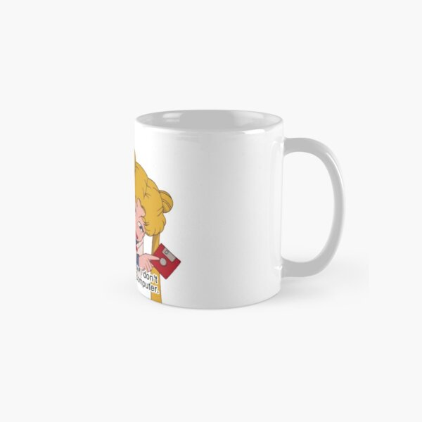 I don't know how to use a computer Classic Mug