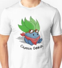 Capitaine Oddish Sketch T-shirt unisexe