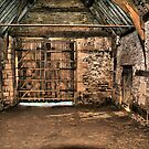 The Tithe Barn Large Door End by davesphotographics