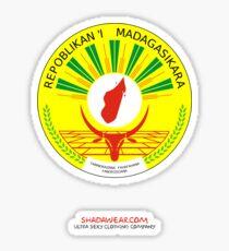 Madagascar Coat of Arms Sticker