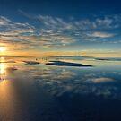 Blue Sunset by Clayhaus