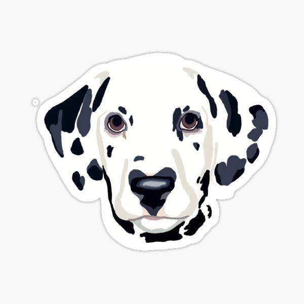 Dalmatian Glossy Sticker