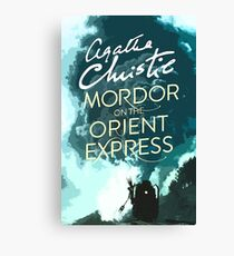 Mordor on the Orient Express Canvas Print
