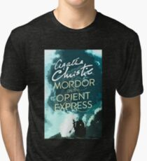 Mordor on the Orient Express Tri-blend T-Shirt