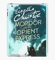 Mordor on the Orient Express iPad Case/Skin