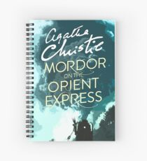 Mordor on the Orient Express Spiral Notebook