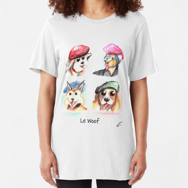 Le Woof Slim Fit T-Shirt