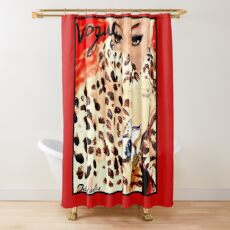 VOGUE : Vintage 1939 Debutante Advertising Print Shower Curtain