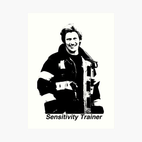 Tommy Gavin - Sensitivity Trainer Art Print
