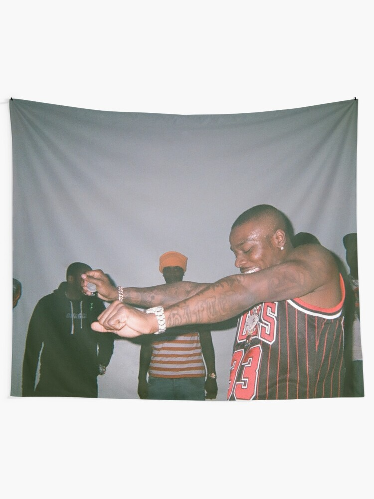 Alternate view of Dababy Tapestry