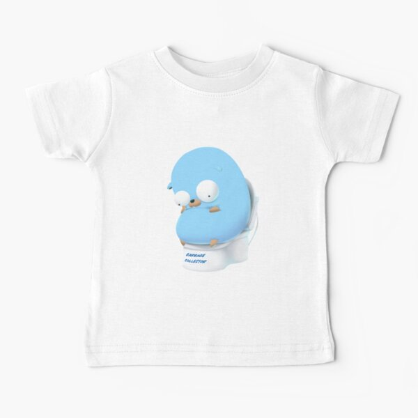 Golang Gopher Ir a pensar Camiseta para bebés