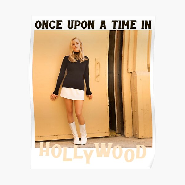 Once Upon a Time in Hollywood - Margot Robbie as Sharon Tate Poster
