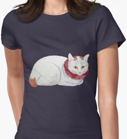 White Cat T-Shirt T-Shirt