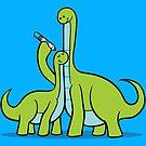 Dinosaur Growth Chart (Green) by RyanAstle