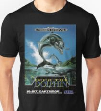 Ecco the Dolphin Mega Drive Cover T-Shirt