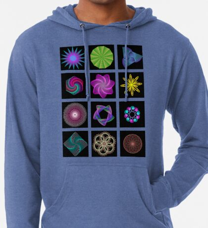 Beautiful colorful geometric shapes Lightweight Hoodie