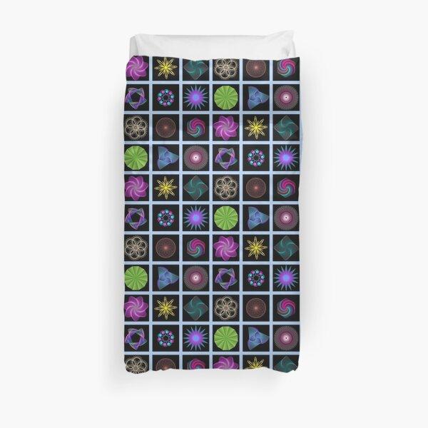 Beautiful colorful geometric shapes Duvet Cover
