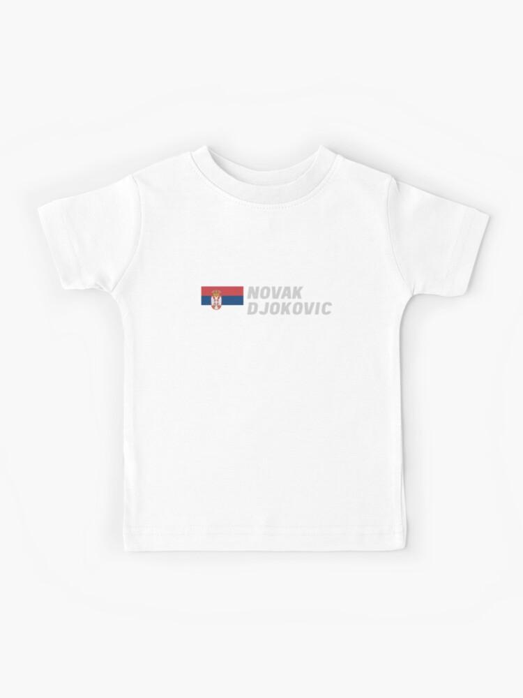Novak Djokovic Kids T Shirt By Mapreduce Redbubble