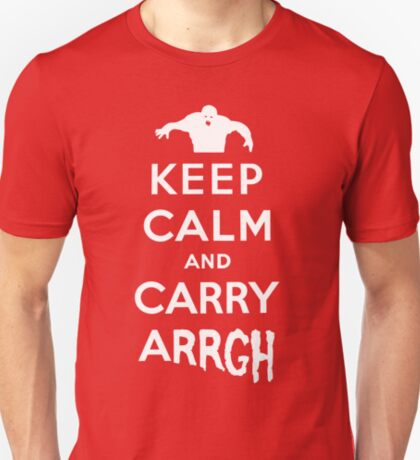 Keep Calm and Carry Arrgh! T-Shirt