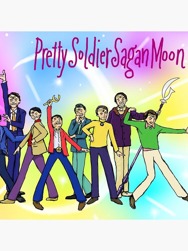 Pretty Soldier Sagan Moon by sneercampaign