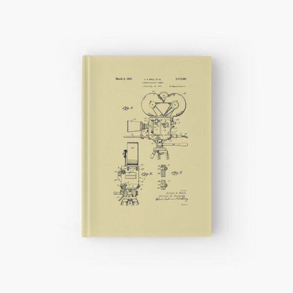 Movie Film Camera Patent Prints 1937 Hardcover Journal