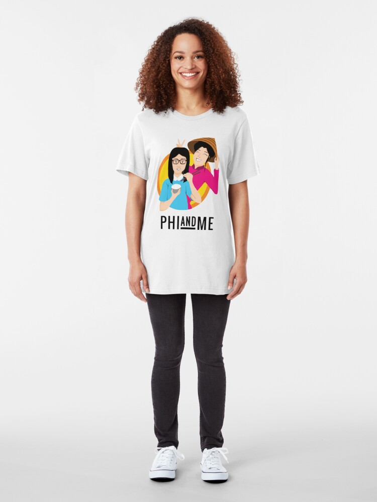 Alternate view of Phi And Me Slim Fit T-Shirt