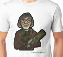 MY LOG SAW SOMETHING THAT NIGHT - from 'The Peaks' range Unisex T-Shirt