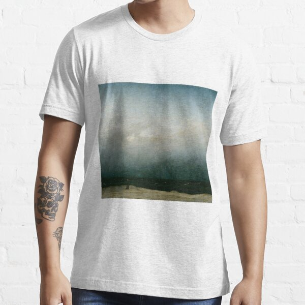 Caspar David Friedrich - Monk by the Sea Essential T-Shirt