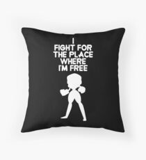 Steven Universe - Garnet - Extended Opening - (White) Throw Pillow