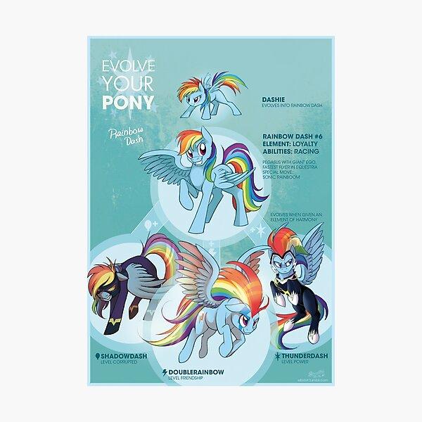 EYP Rainbow Dash Photographic Print