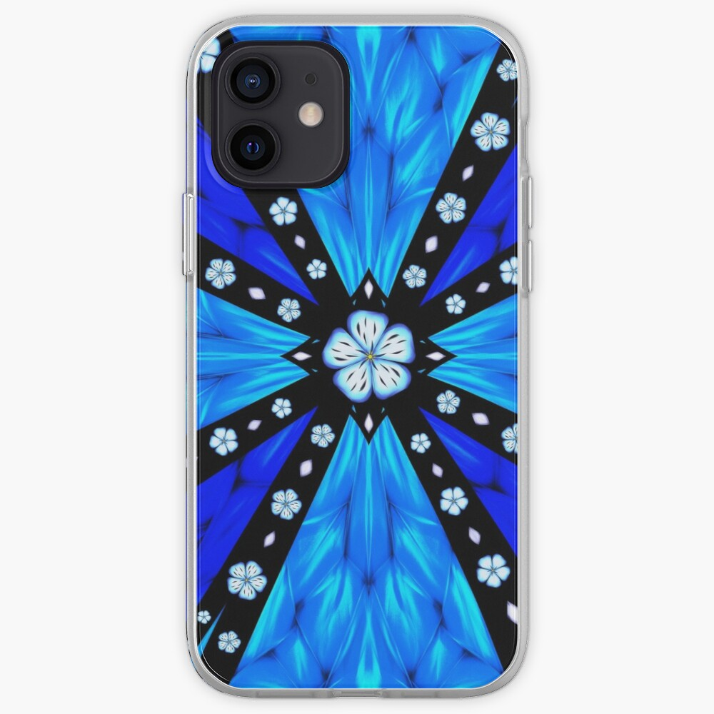 Onyx Beams of Flowers and Gems iPhone Case & Cover