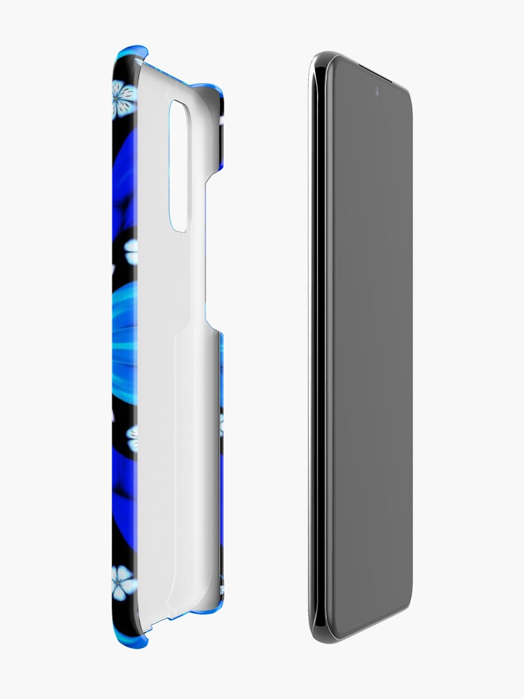 Alternate view of Onyx Beams of Flowers and Gems Case & Skin for Samsung Galaxy