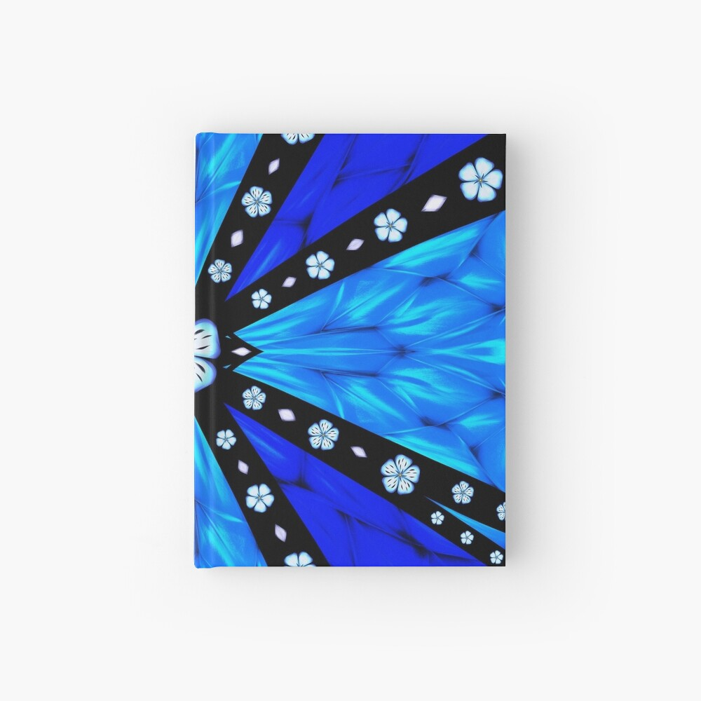 Onyx Beams of Flowers and Gems Hardcover Journal