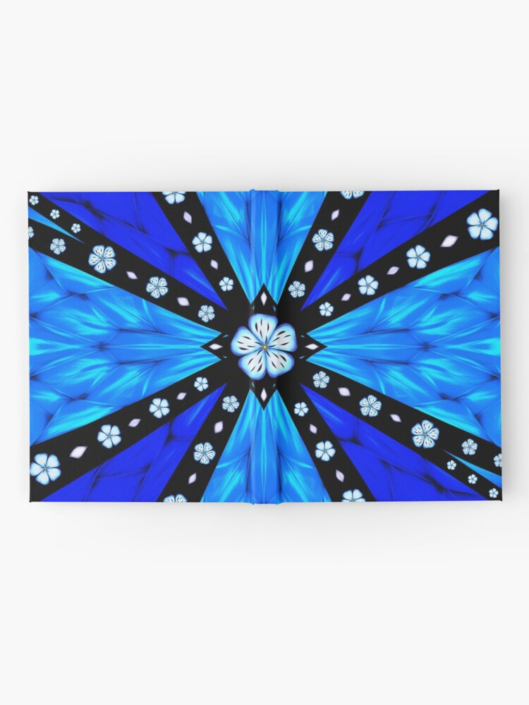 Alternate view of Onyx Beams of Flowers and Gems Hardcover Journal