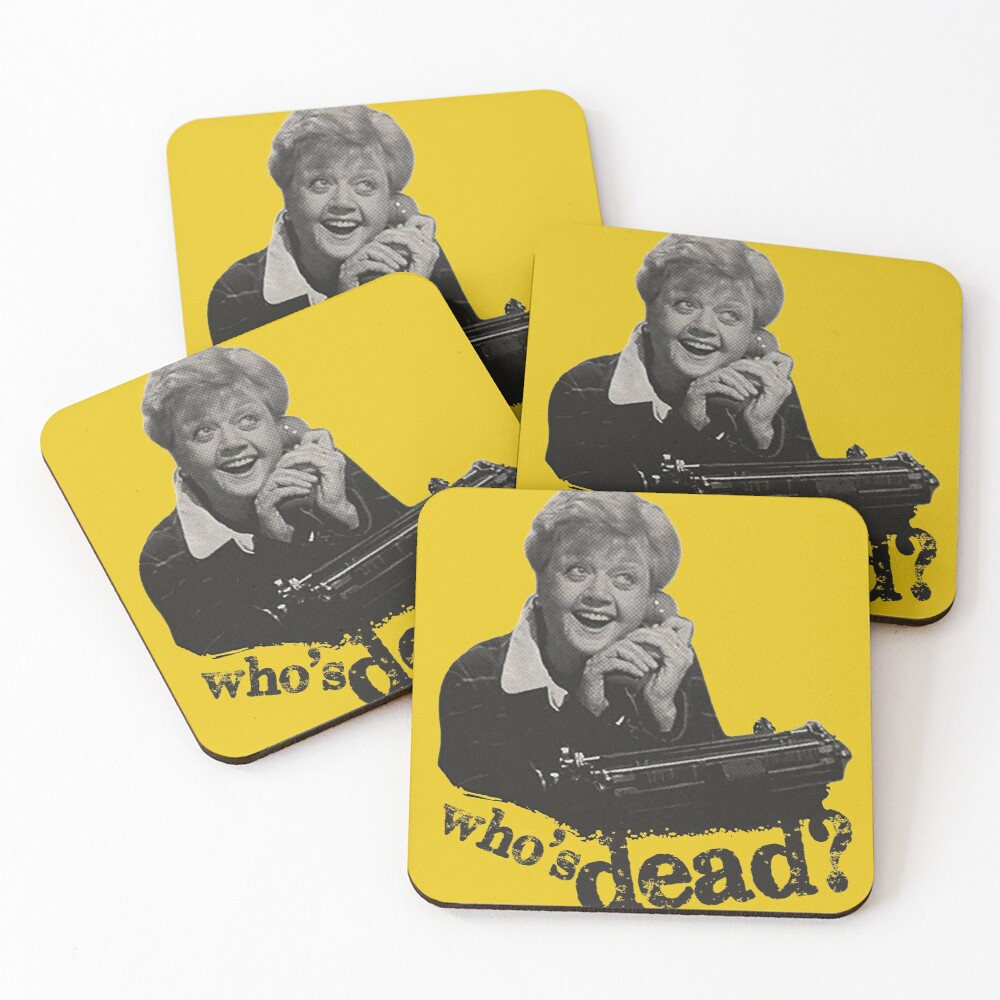 Murder She Wrote - Fletcher Coasters (Set of 4)
