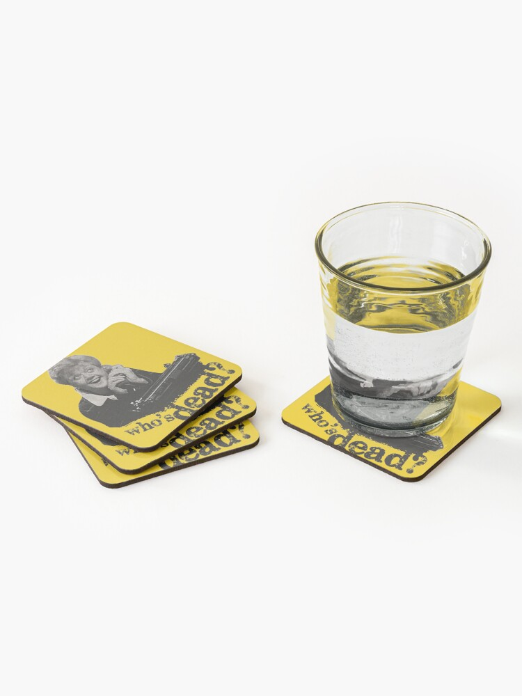 Alternate view of Murder She Wrote - Fletcher Coasters (Set of 4)