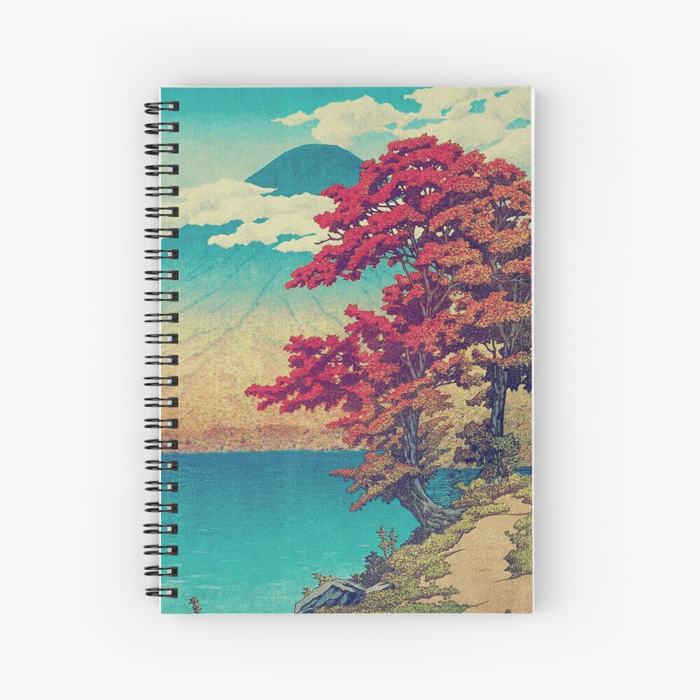 The New Year in Hisseii Spiral Notebook