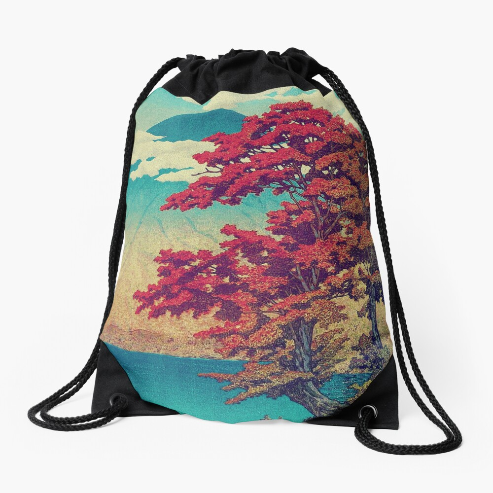 The New Year in Hisseii Drawstring Bag
