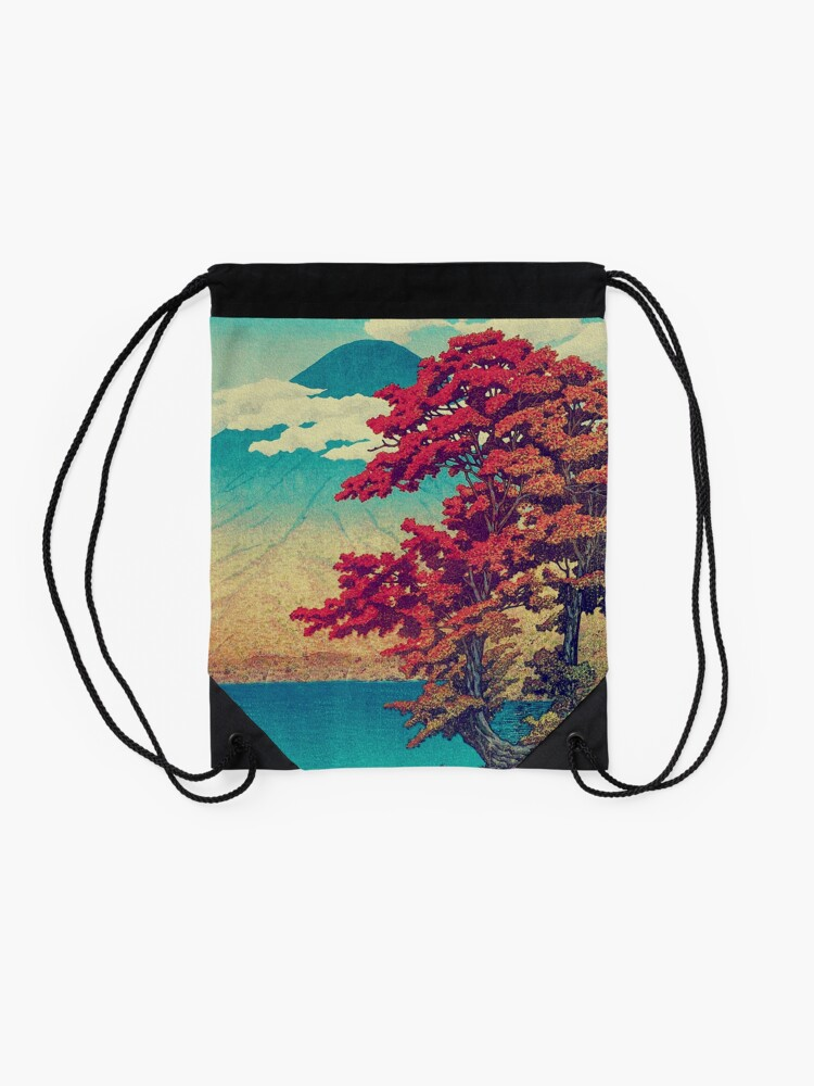 Alternate view of The New Year in Hisseii Drawstring Bag