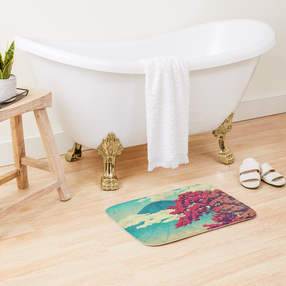 The New Year in Hisseii Bath Mat