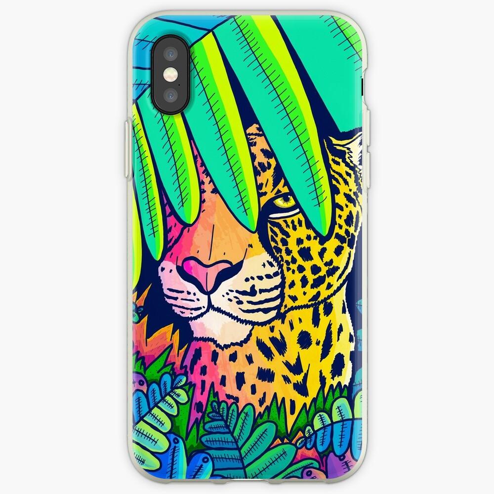 Jungle leopard iPhone Case & Cover