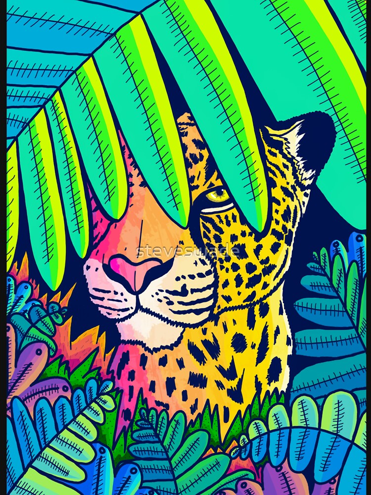 Jungle leopard by steveswade
