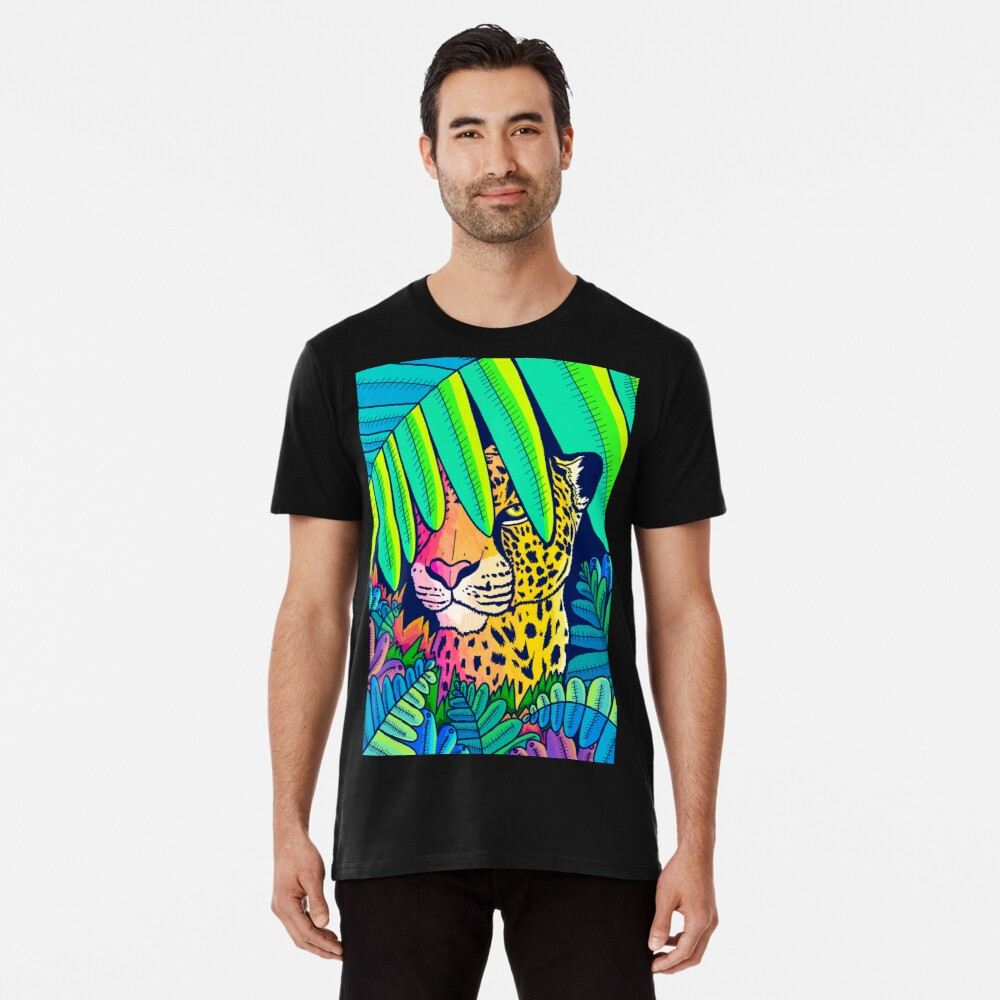 Jungle leopard Premium T-Shirt