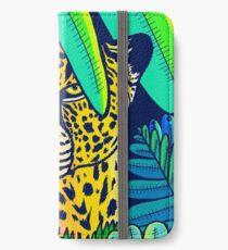 Jungle leopard iPhone Wallet/Case/Skin
