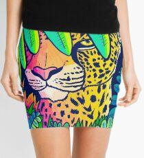 Jungle leopard Mini Skirt