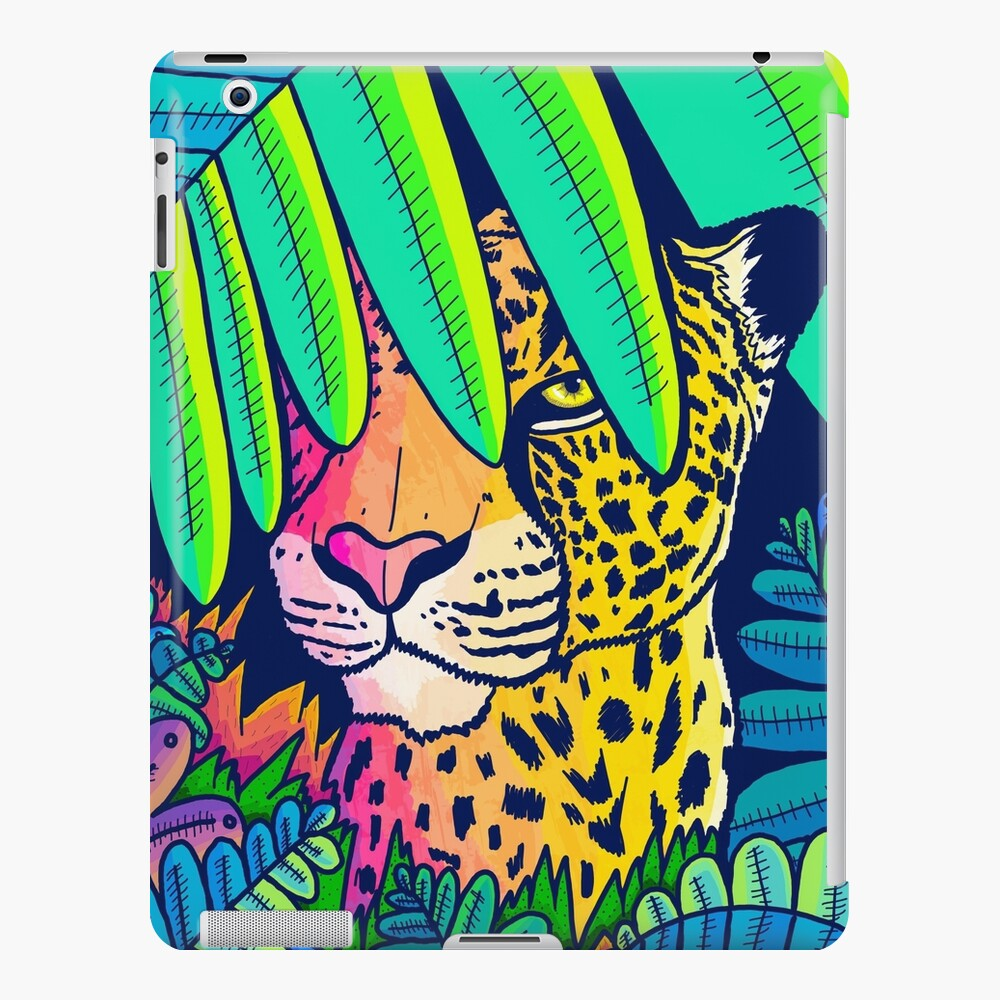 Jungle leopard iPad Case & Skin