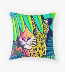 Jungle leopard Floor Pillow