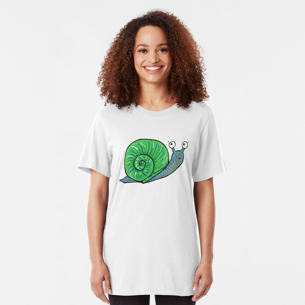 Sammy the Snail Slim Fit T-Shirt